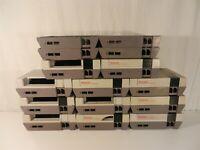 Lot of Official Original Nintendo NES OEM Shells / Housing - 11 Top & 15 Bottom