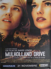 MULHOLLAND DRIVE - LYNCH / WATTS - ORIGINAL RARE FRENCH ROLLED MOVIE POSTER