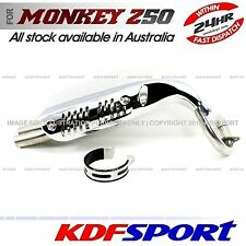 KDF MUFFLER EXHAUST PIPE 50 SILENCER STAINLESS STEEL FOR HONDA MONKEY Z50 Z50J