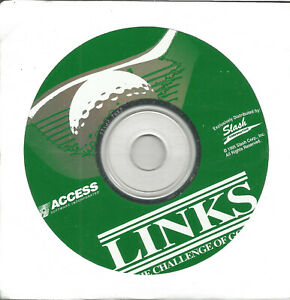Links : The Challenge of Golf Software CD