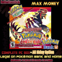 Pokemon Omega Ruby Unlocked| Events+ All Shiny | Pokemon Home | All Items!