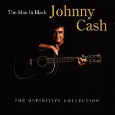 Johnny Cash : The Man in Black: The Definitive Collection CD (2006) Great Value