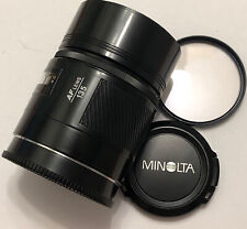 Minolta Maxxum AF 135mm f2.8 prime lens perfect optic 89% condition fully tested