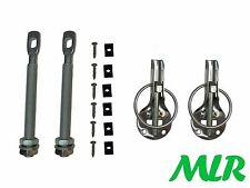 MOTORSPORT FIA APPOVED STAINLESS STEEL RETAINED BONNET PINS KIT MLR.IP