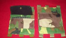 sks rifle / swiss / russian / butt stock ammo pouch / WOODLAND CAMO / REENACTOR