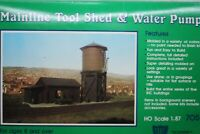 """IHC HO #705, """"Mainline Tool Shed & Water Pump"""", NOS, C-6,   (S-5)"""