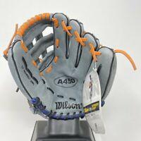 """Wilson A450 Advisory Staff Baseball Glove 11"""" RHT Right Hand Throw Youth 8-11 NY"""