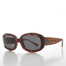 Square Mod Beatnik Hipster 1960s Style Vintage Sunglasses Matte Brown -Blade