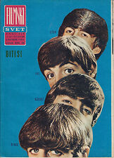 THE BEATLES RARE FILMSKI SVET MOVIE MAGAZINE YUGOSLAVIA  MUSIC