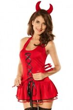 red devil sexy body doll  -  tenue sexy girl diable rouge
