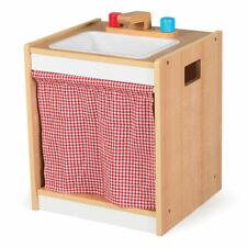 Tidlo Wooden Toddler Sink Pretend Roleplay Kitchen Accessories