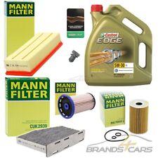 MANN-FILTER INSPEKTIONSPAKET+5L CASTROL 5W-30 LL VW PASSAT CC 2.0 TDI BJ 08-12