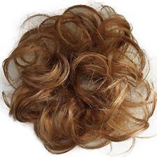 PRETTYSHOP 100% Human Hair Scrunchy Scrunchie Bun Up Do Hair Piece Hair Ribbon