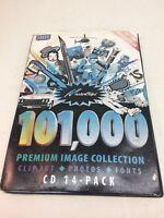 Masterclips 101,000 Premium Image Collection- Clip Art, Photos, Fonts CD 14 Pk