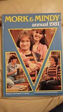 MORK & MINDY ANNUAL 1981 - PRICE UNCLIPPED