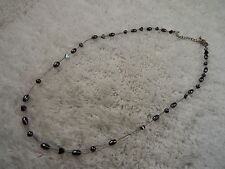 Hemetite Bead Wire Necklace (A59)