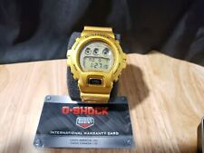NEW CASIO GSHOCK GOLD RESIN WATCH DW6900GD