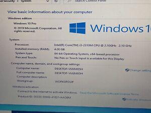 """Dell Vostro 3350 13.3"""" Core i3-2310 2.10GHz, 4GB RAM, 120GB SSD, Win 10 Pro"""