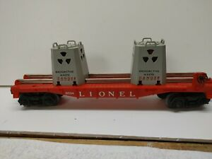 Lionel # 6- 9234 Radioactive Waste Car