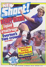 KERRY DIXON / EVERTON / PAUL McGRATHShoot22June1985