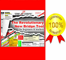 THE 35 STEPS A5 MAGNETIZED REVOLUTIONARY CONTRACT BRIDGE TOOL TEACHERS BEGINNERS