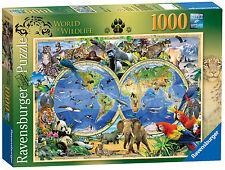 Howard Robinson World of Wildlife 1000 Piece Ravensburger Jigsaw