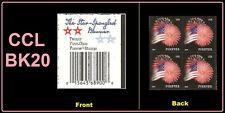 US 4869 Star-Spangled Banner forever header block CCL BK20 MNH 2014