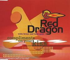 RED DRAGON with BRIAN/TONY GOULD - Compliments On Your Kiss (UK 4 Tk CD Single)