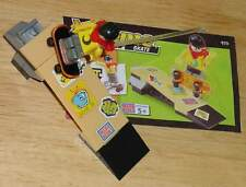 MEGA BLOKS 9171 XTREME SPORTS SKATE SKATEBOARD RAMP WITH INSTRUCTIONS