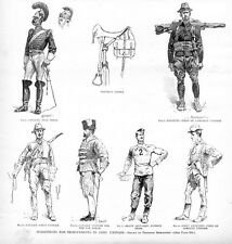 FREDERIC REMINGTON ARMY UNIFORM IMPROVEMENTS, INFANTRY