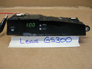 2000-2004 LEXUS GS300/GS430  DASH DIGITAL CLOCK