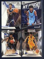 2019-20 Panini Mosaic JA MORANT NBA Debut 4 Card Lot RC #274 My House Witchita