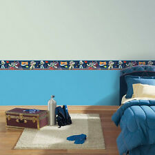 Disney Pixar ~ 3D Toy Story Buzz Lightyear ~ Peel & Place Wallpaper Border ~ NIP