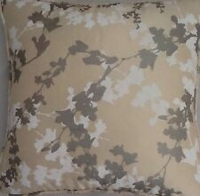 40.6cm cm Laura Ashley Funda de cojín en Hawthorne Natural Seda Tela