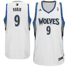 ADIDAS Ricky Rubio NBA Minnesota Timberwolves Swingman Jersey XXL Home White #9