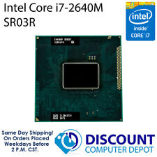 Intel Core i7-2640M 2.8 GHz Dual-Core Laptop CPU Processor SR03R