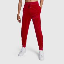 NEW NIKE SPORTSWEAR PLUSH VELOUR JOGGER PANTS RED SIZE 2XL AH3388 687