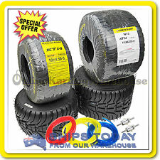 GO KART TYRES DUNLOP KT14 WET SET INCLUDES 3M FUEL LINE AND 2 FUEL FILTERS