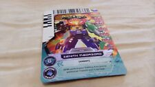 Zenith Megazord Power Rangers Action Game Card