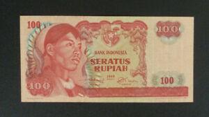 Indonesia Banknote - 1968 100 Rupiah Unc (P108a)