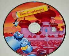 Disney's Reading Quest With Aladdin Cd-Rom 1998 Cd-Rom Disc Only B1