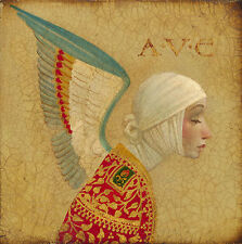 James Christensen ANGEL WITH EPAULET, Giclee canvas, ARTIST PROOF A/P#50/50