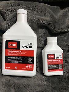 Toro 38908 4-Cycle Winter Engine Oil 5W-30 20oz Bottle & 4oz Bottle