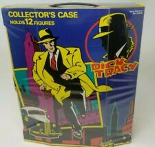 Dick Tracy Collector'S Case Holds 12 Figures 1990 Playmates