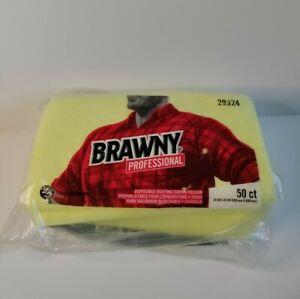 Georgia Pacific Professional Brawny Industrial Dusting Cloths 24x24 29624 50 ct