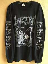 IncantationLong sleeve XL shirt Deicide Vile Death Black metal Blasphemy Autopsy