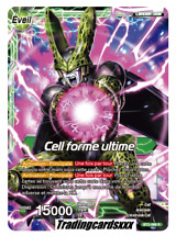 ♦Dragon Ball Super♦ Cell forme ultime [LEADER] : BT2-068 R -VF-