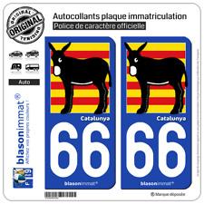 Nos Stickers sont recouvert dun pelliculage de Protection sp/écifique Stickers Garanti 5 Ans DECO-IDEES 1 Sticker pour Plaque dimmatriculation Moto 66 Pyrenees ORIENTALES