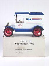 Ertl FINA 1913 FORD MODEL T VAN Coin Bank 1:25 Diecast 1991 Petrofina