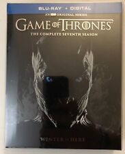 GAME OF THRONES COMPLETE SEVENTH SEASON BLU RAY 3 DISC SET DIGIPACK + SLIPCOVER